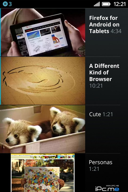 Firefox OS最新设计概念图