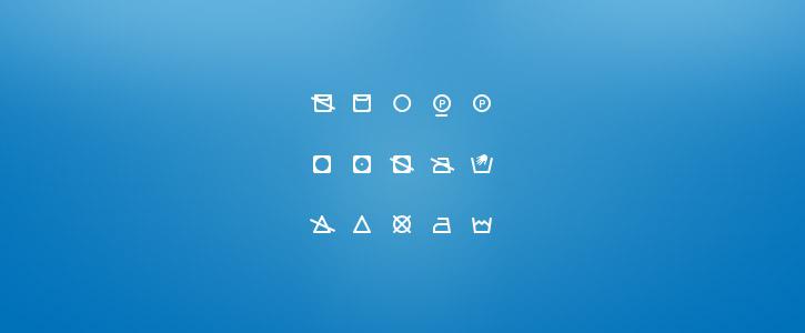 Washing Icons by Dominik Rezek