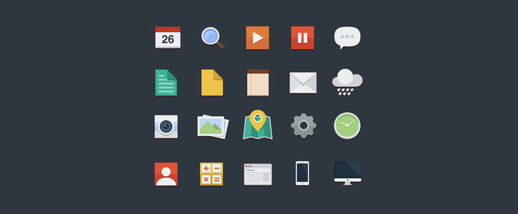 Free Flat Icons by Buatoom