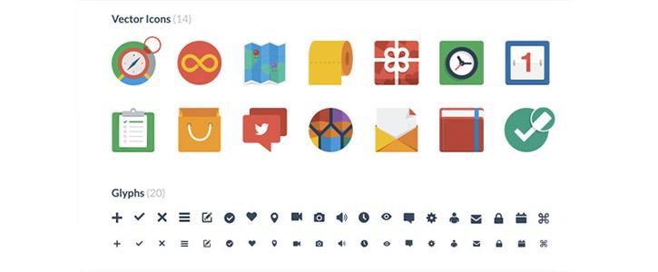 Flat UI Icons by Designmodo