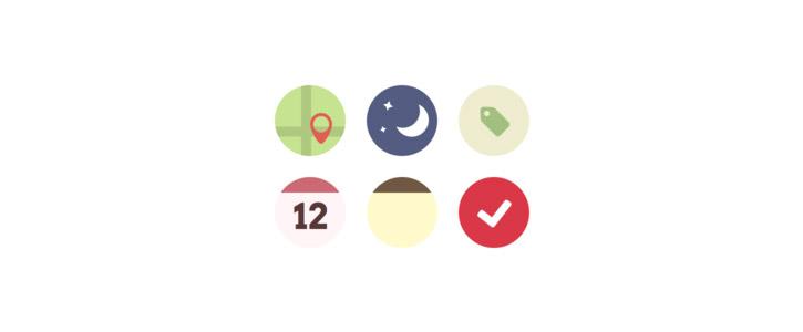 Some Flat Icons by Jeremy Blazé