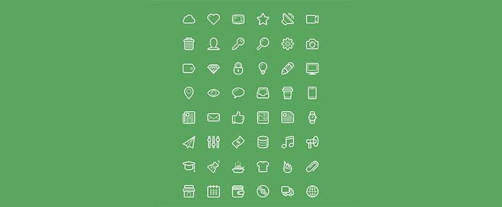 Linecons by Designmodo