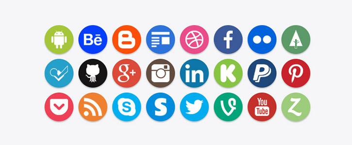 Social Icons by Brian Macco