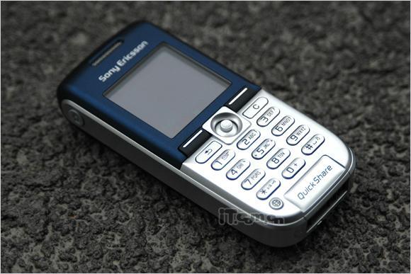 时尚简约索爱直板手机K300c高清晰图赏(6)