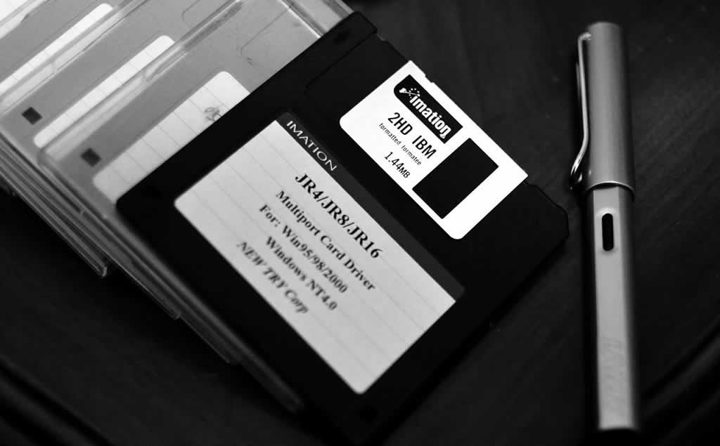 一个软盘的年代