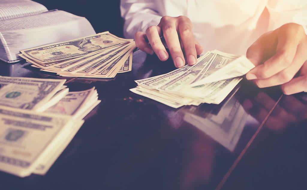 数钱数到手抽筋
