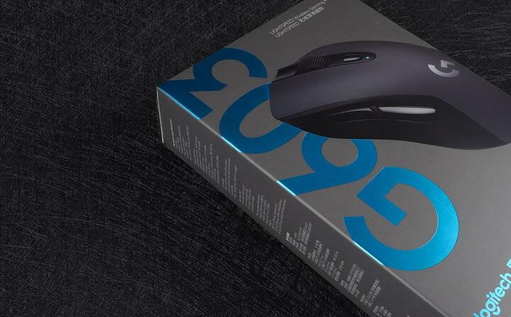微蓝一抹倾人心,罗技G603的主观使用感受!