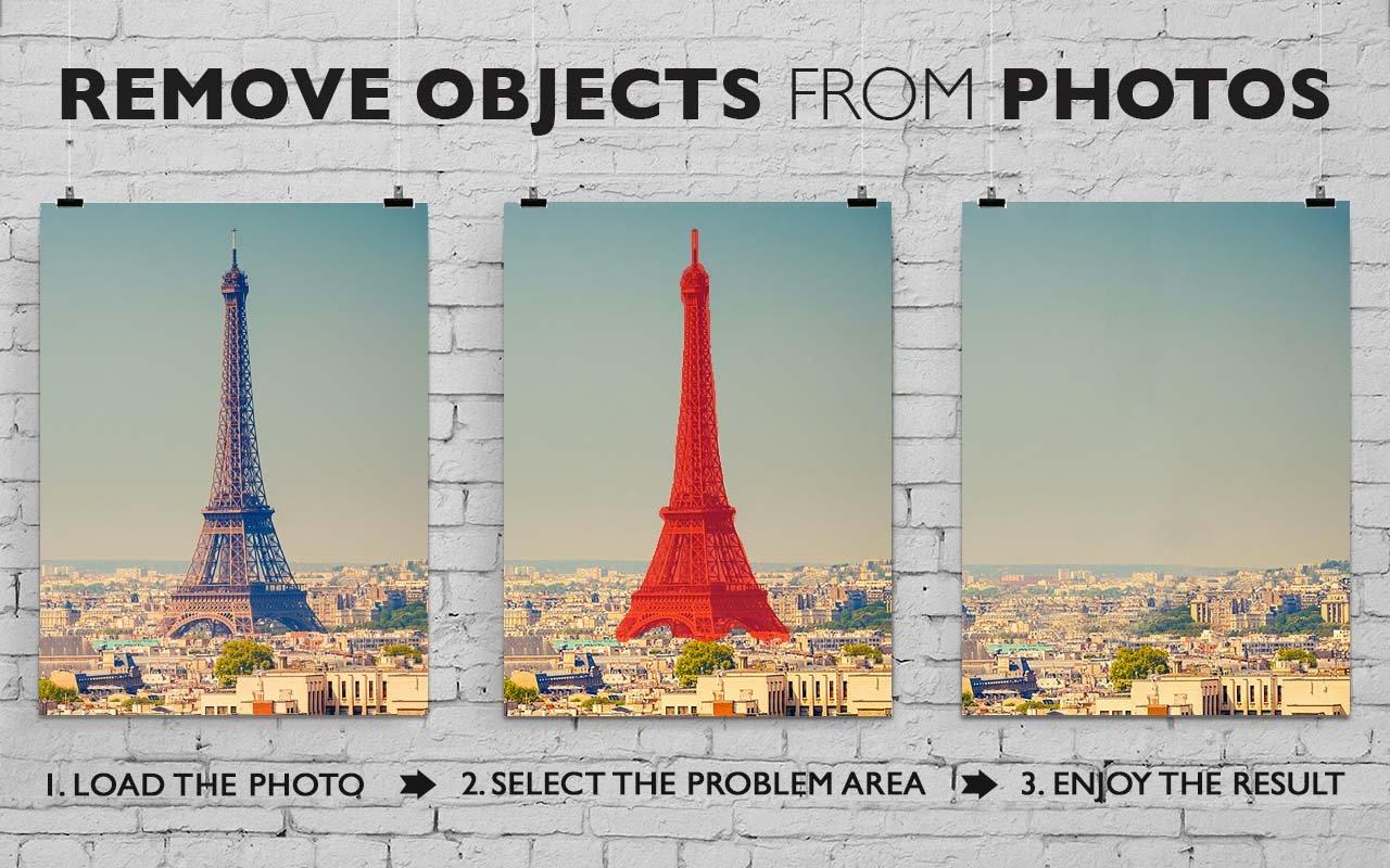 照片恢复软件示例-从照片中删除项目